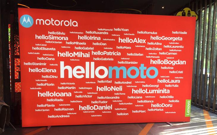 Kamrad - Motorola – Lansare produs 2017