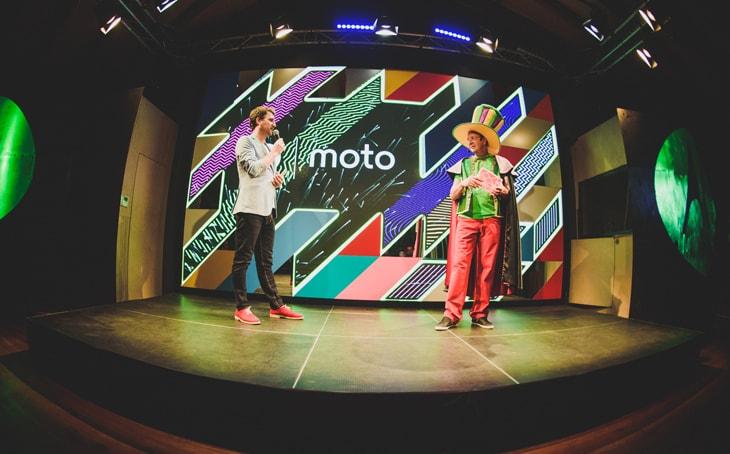 Kamrad - Motorola – Lansare de produs