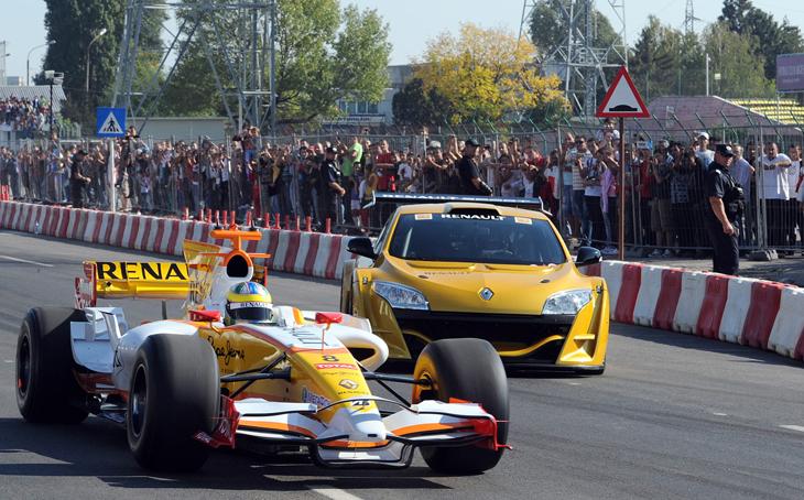 Kamrad - Formula 1 Roadshow in Romania