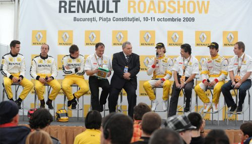 Kamrad - Formula 1 Roadshow in Romania
