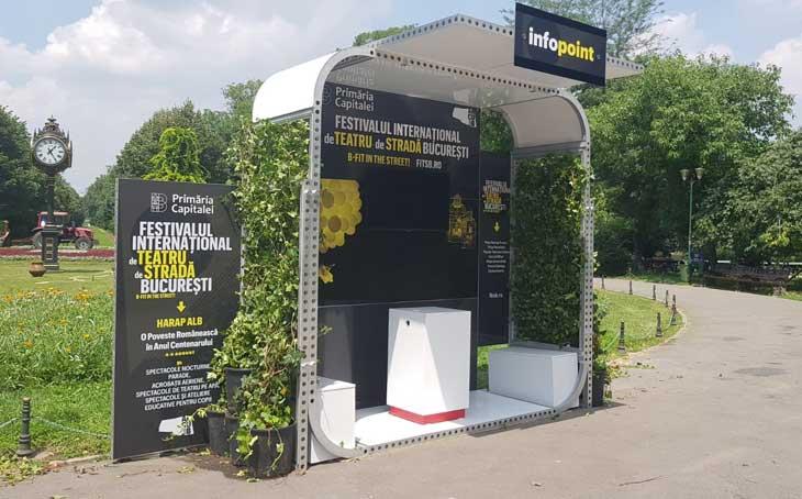 Kamrad - Info Point Festivalul International de Teatru de Strada Bucuresti