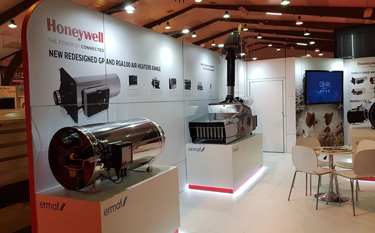 Kamrad - Stand Expozitional Honeywell la SPACE 2018