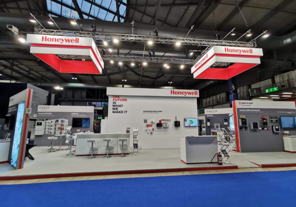 Kamrad - Stand Honeywell la Sicurezza