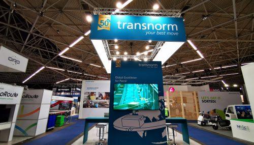 Kamrad - Stand Transnorm la Parcel+ Post Expo