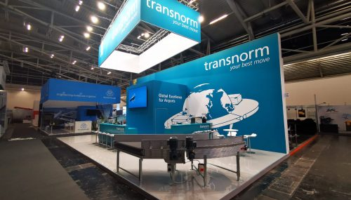 Kamrad - Stand Transnorm la Interairport Europe Expo
