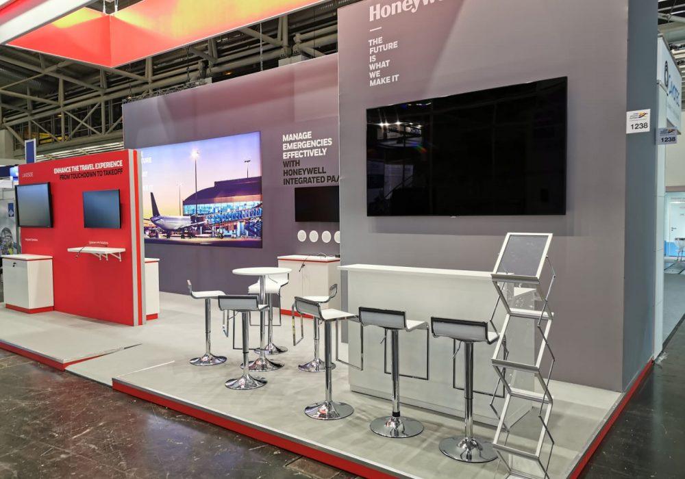 Kamrad - Stand Honeywell la Interairport Europe Expo
