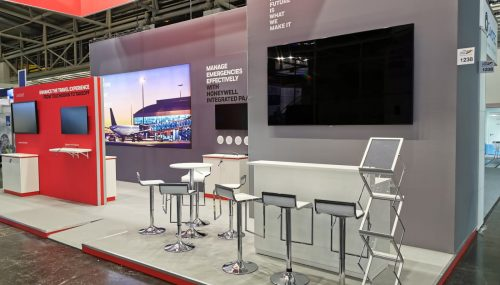 Kamrad - Stand Honeywell la Interairport Europe Expo