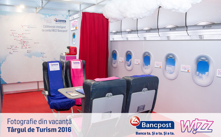 Kamrad - Stand Bancpost si Wizz Air