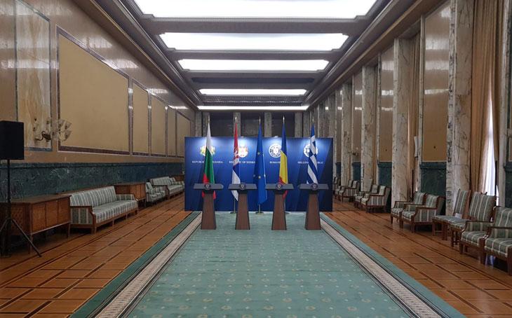 Kamrad - Perete fundal Conferinta Guvern
