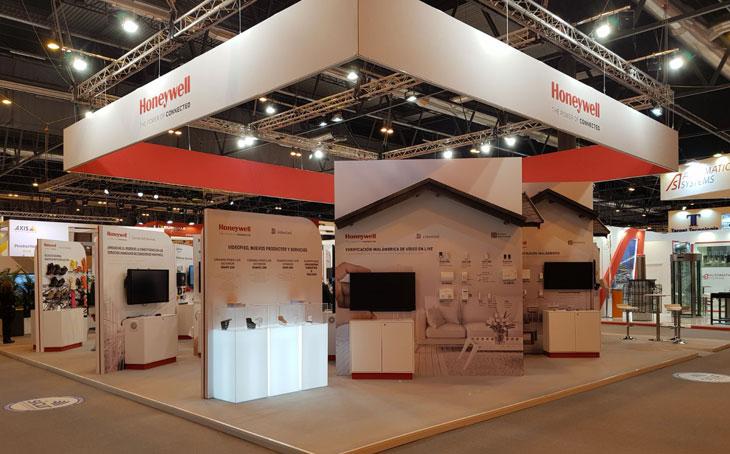 Kamrad - Stand Expo Honeywell la Sicur
