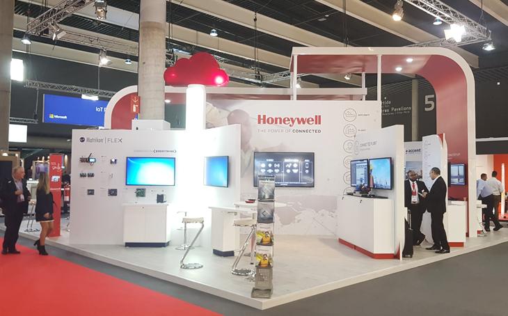 Kamrad - Stand Honeywell IoT Barcelona