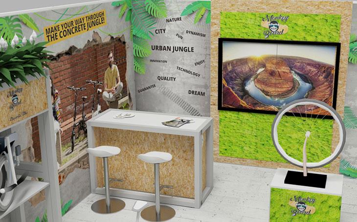 Kamrad - Stand Expo Monkey Board la BTechWeek