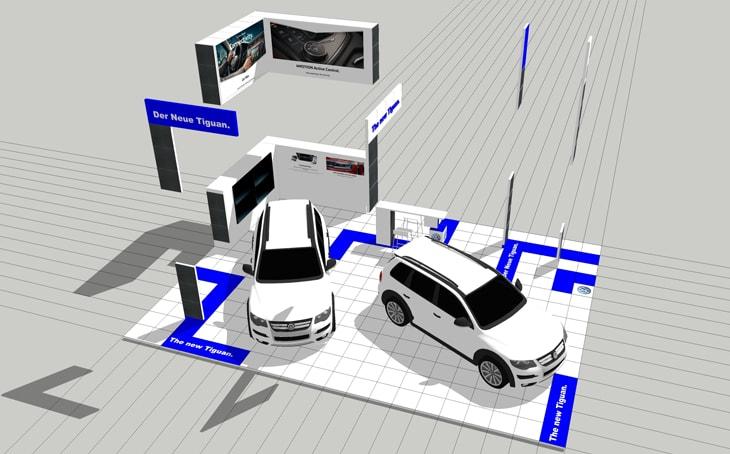 Kamrad - Stand noul Volkswagen Tiguan