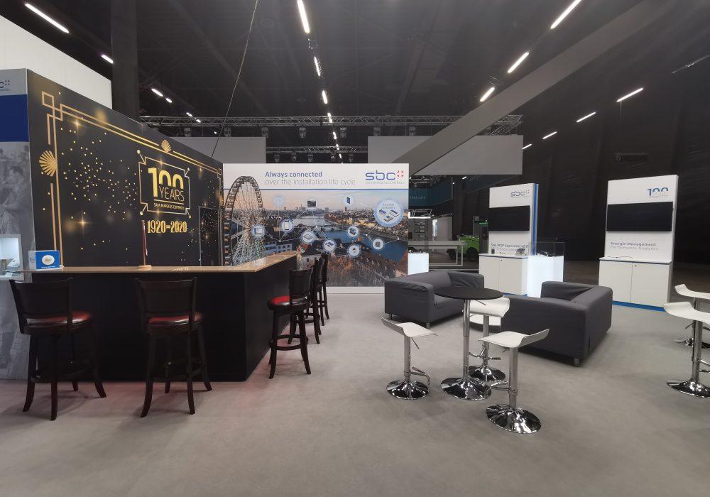 Kamrad - Stand aniversar 100 ani SBC la Swissbau